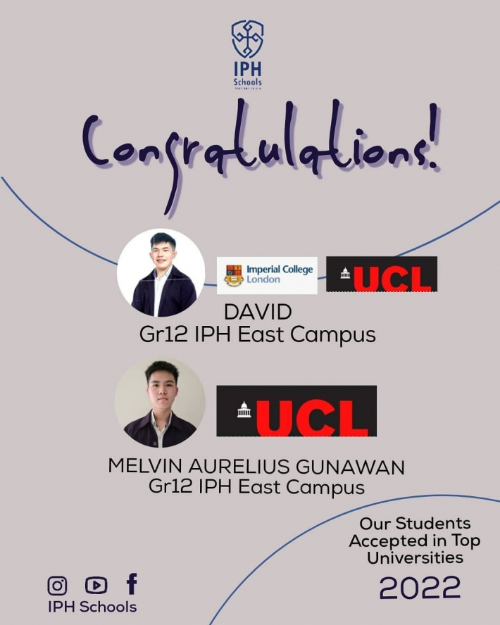 Learn from IPH Alumni : How to Get Accepted at Your Dream University
