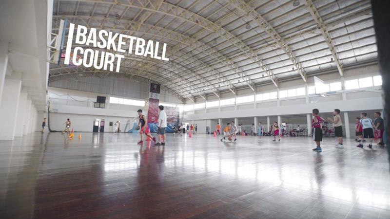 Basketball Court East